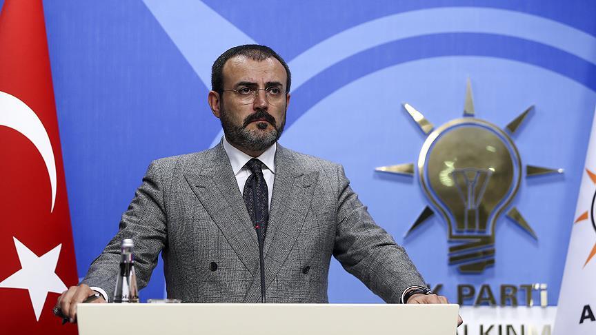 AK Parti Genel Başkan Yardımcısı Ünal: CHP iftiralarla gündemi işgal etmesin