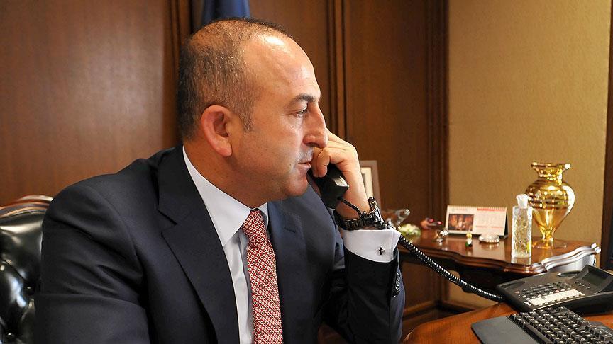 Çavuşoğlu Iraklı mevkidaşıyla telefonda görüştü