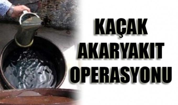 Konya Haber: Konya'nın Aralarında Bulunduğu 3 İlde Kaçak Akaryakıt Operasyonu