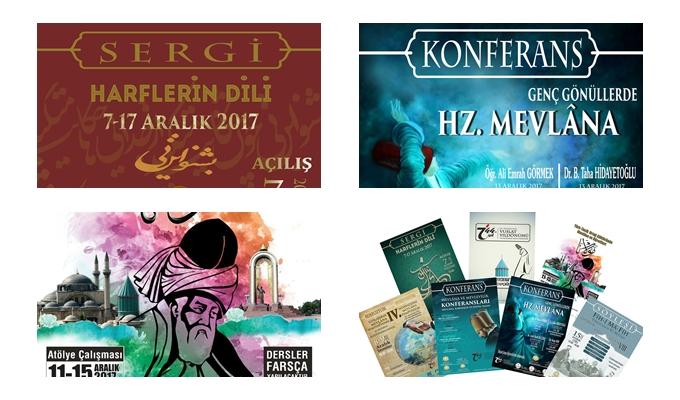 Konya Selçuk Üniversitesi Hz. Mevlana'nın 744. Vuslat Etkinlikleri'ne Hazır