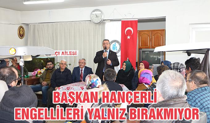 Konya Haber. Başkan Hancer'li Engellileri Yalnıız Bırakmıyor