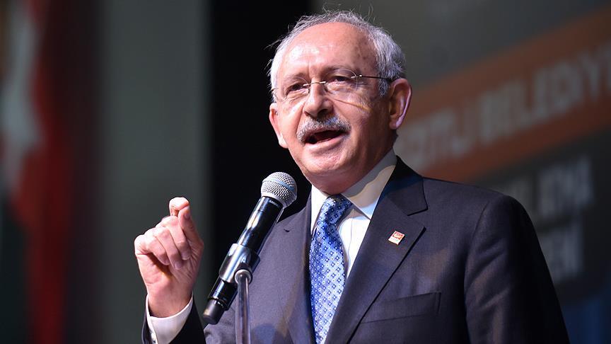 CHP Genel Başkanı Kılıçdaroğlu: Kudüs üzerinde kimse oyun oynamasın