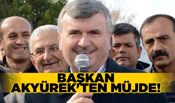 Konya Haber: Başkan Akyüre'ten Müjde