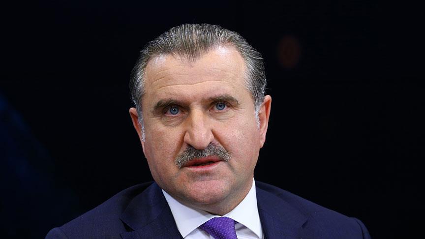 Bakan Bak, Beytullah Eroğlu'nu kutladı