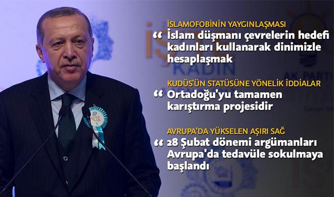 Cumhurbaşkanı Erdoğan: 28 Şubat argümanı Avrupa'da tedavüle sokulmaya başlandı