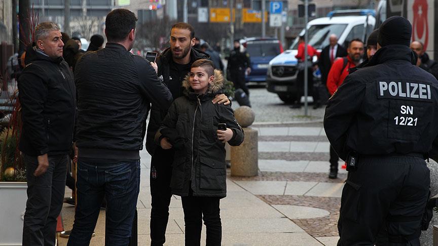 Beşiktaş kafilesi Almanya'da