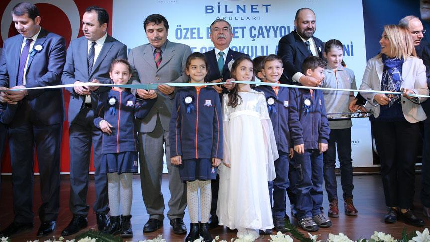 Bakan Yılmaz Bilnet Okullarının açılışını yaptı