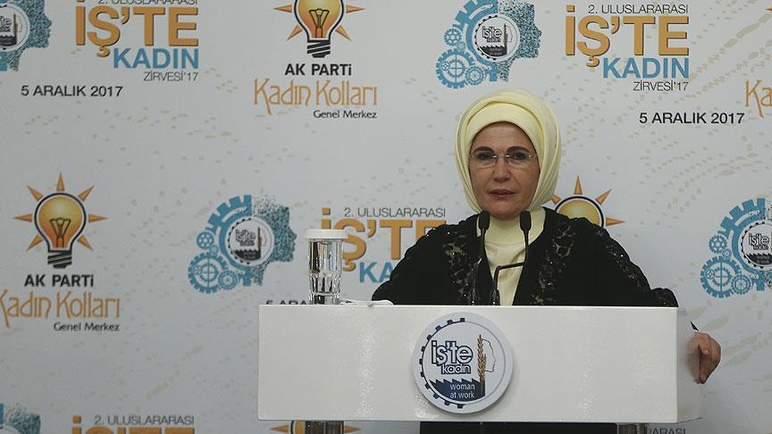 Emine Erdoğan: Kadınların olmadığı bir siyaset eksiktir, yarımdır