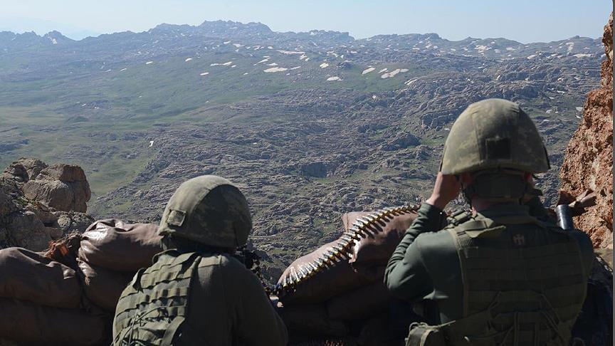 PKK terör örgütünün sözde bölge yöneticisi 2 terörist etkisiz hale getirildi