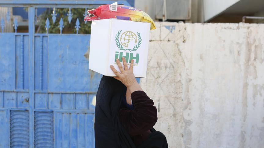 İHH'dan İran ve Irak'taki depremzedelere sıcak yemek