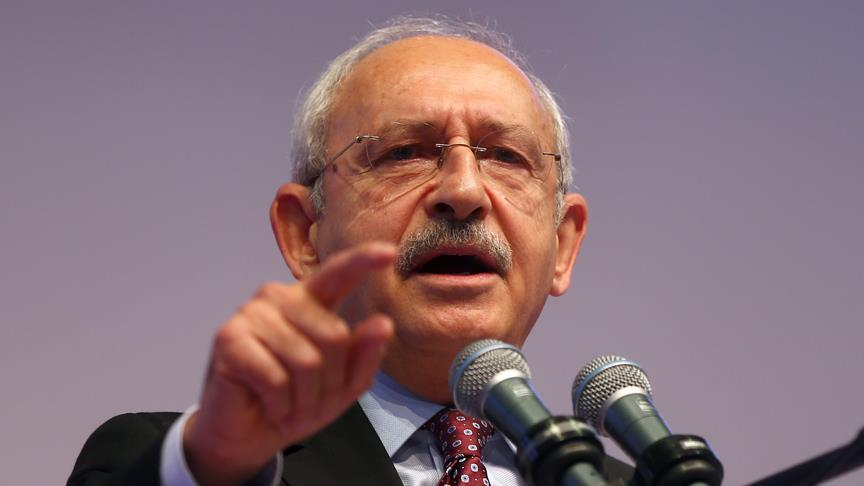 CHP Genel Başkanı Kılıçdaroğlu hakkında soruşturma başlatıldı