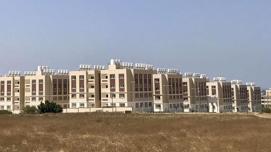 TİKA'nın Gazze'de inşa ettiği konutlar Filistin yönetimine devredildi
