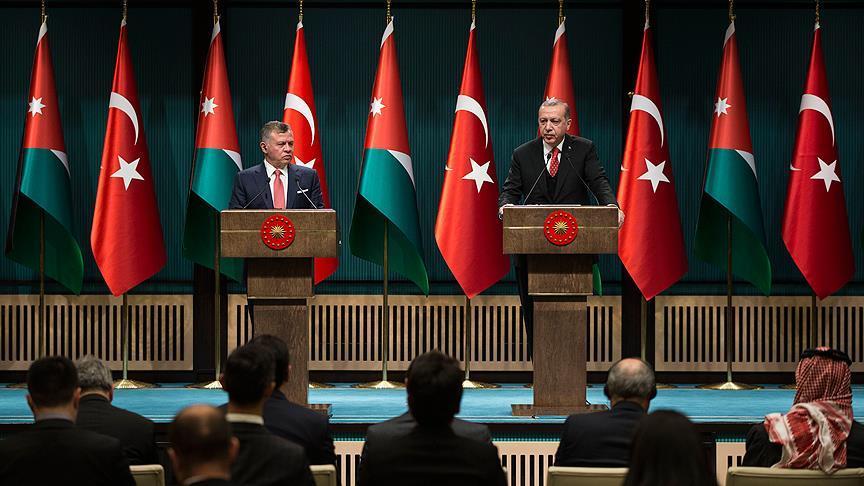 Ürdün Kralı Abdullah: İki devletli bir çözümün alternatifi yok