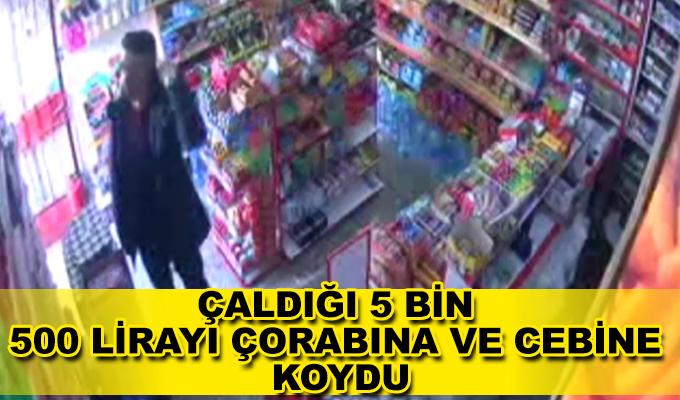 Konya Haber: Konya'da çaldığı 5 bin 500 lirayı çorabına ve cebine koydu