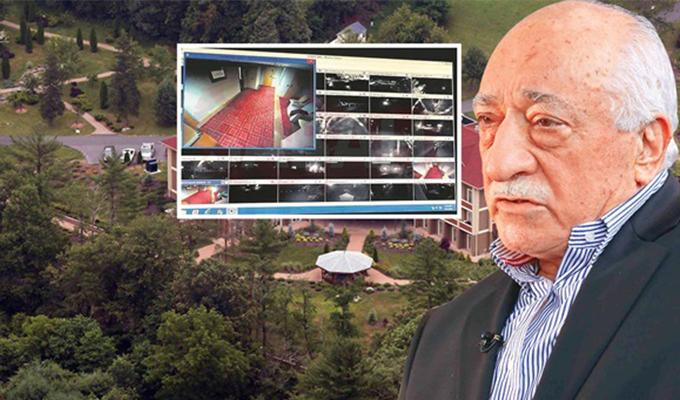 Fetullah Gülen'in inine girildi