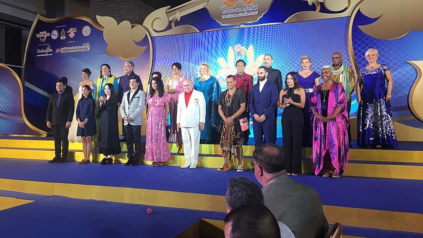 Tayland'daki ipek etkinliğinde 'Türkiye rüzgarı'