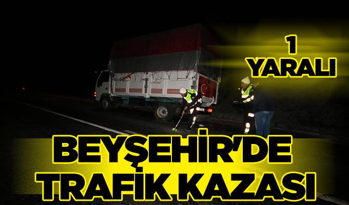 Konya Haber: Konya Beyşehir'de trafik kazası: 1 yaralı