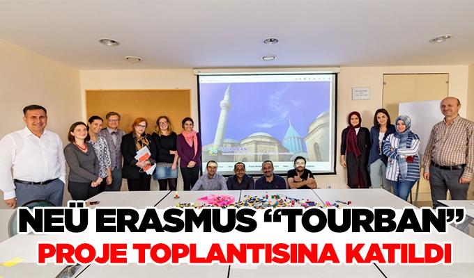 """Konya Haber: NEÜ Erasmus """"TOURBAN"""" Proje toplantısına katıldı"""