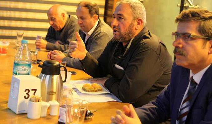 Selçuklu Belediyespor futbol takımı yemekte buluştu