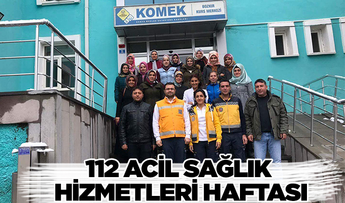 Konya Haber: 112 Acil Sağlık Hizmetleri Haftası