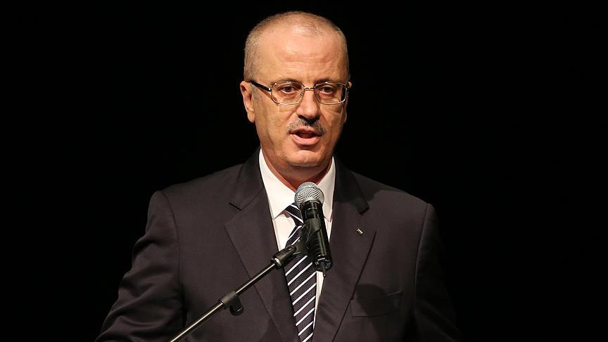 Hamdallah'tan Kudüs kararına karşı uzlaşı çağrısı