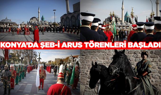 Konya'da Hazreti Mevlana'yı anma etkinlikleri başladı