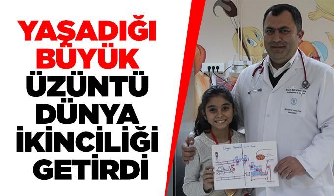 Konya'da yaşadığı büyük üzüntü dünya ikinciliği getirdi.