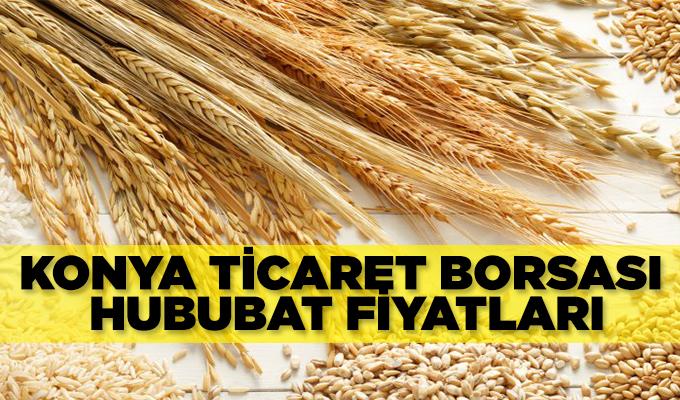 Konya Ticaret Borsası Arpa ve Buğday Fiyatları