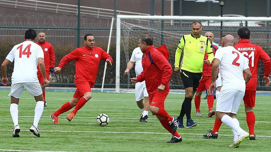 'Spor ile Hayata Bağlan' projesi için gösteri maçı