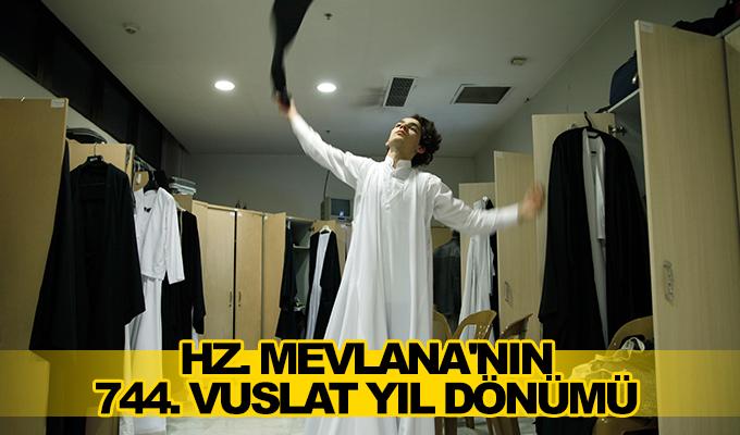 Konya Haber: Konya^da Hz. Mevlana'nın 744. Vuslat Yıl Dönümü