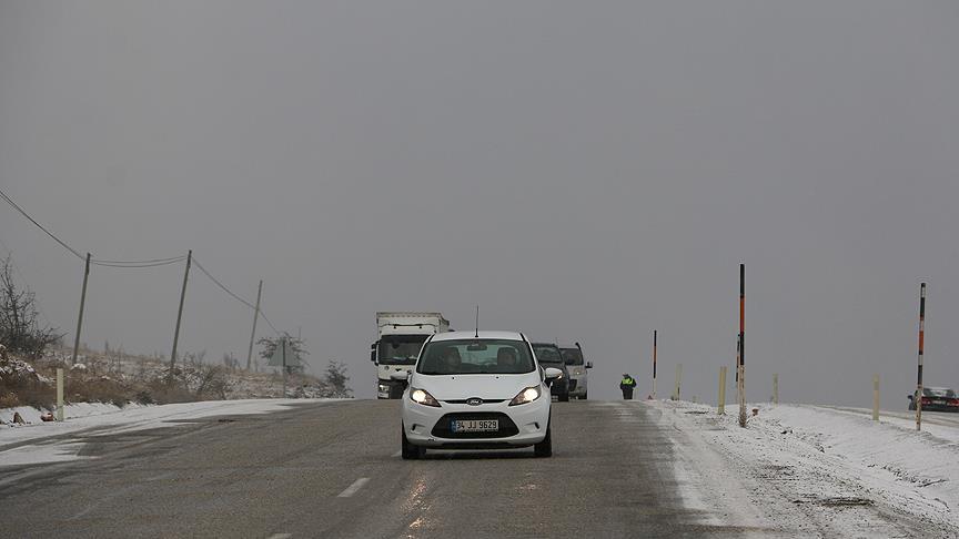 Meteorolojiden 5 il için buzlanma ve don uyarısı