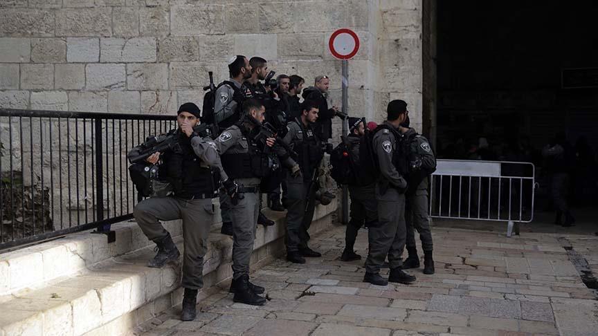 İsrail Doğu Kudüs sokaklarında polis sayısını arttırdı