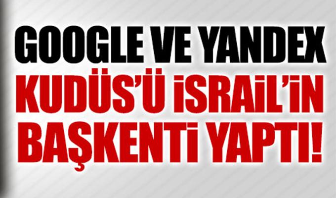 Google, Trump'ın İzinde: Kudüs'ü 'İsrail'in Başkenti' Yaptı