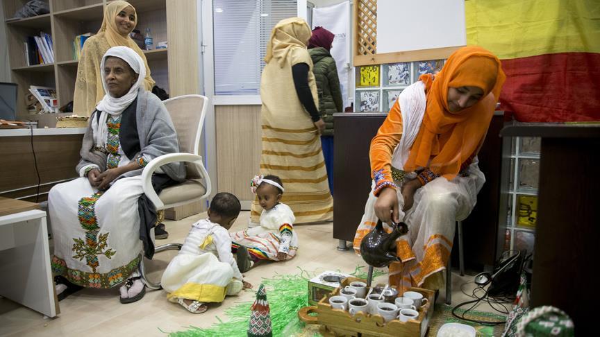 İstanbul'da yaşayan Etiyopya kültürü