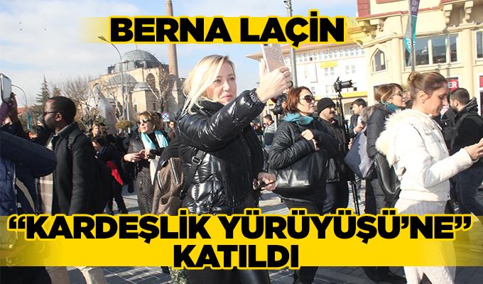 """Konya Haber: """"Kardeşlik Yürüyüşü'ne"""" katıldı"""
