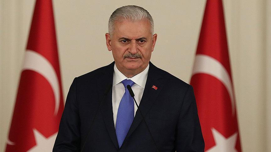 Başbakan Yıldırım'dan Ayla'nın manevi babası için taziye