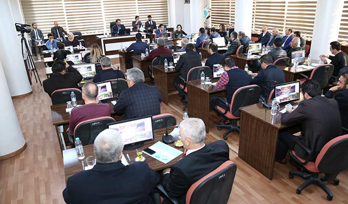 Aksaray Belediye Meclisi ABD'nin Kudüs kararını kınadı