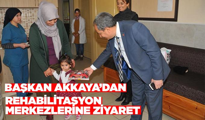 Konya Haber: Başkan Akkaya'dan rehabilitasyon merkezlerine ziyaret