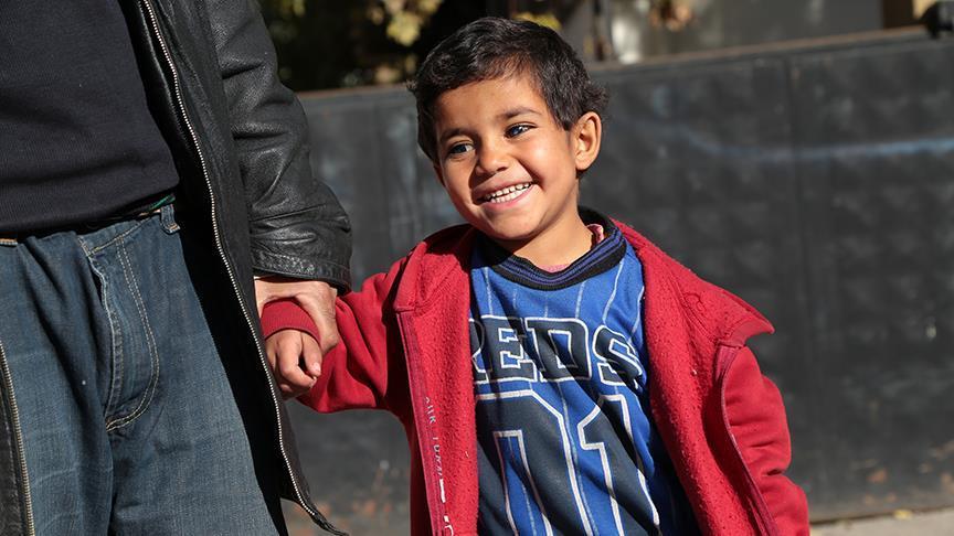 Suriyeli küçük Hasan'a Türkiye ışık olacak