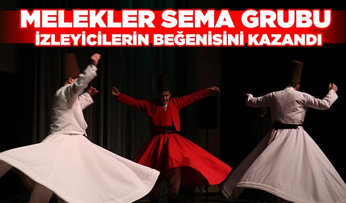 Konya Haber: Melekler Sema Grubu, izleyicilerin beğenisini kazandı.