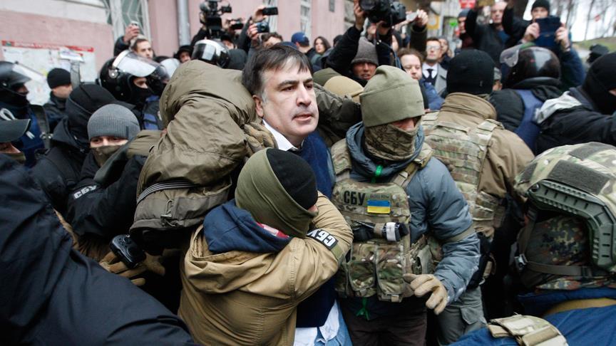 Saakaşvili yeniden gözaltında