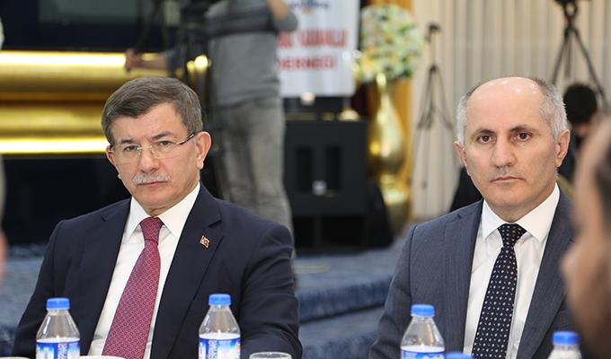 Konya Haber: Eski Başbakan ve AK Parti Konya Milletvekili Davutoğlu Karaman'da