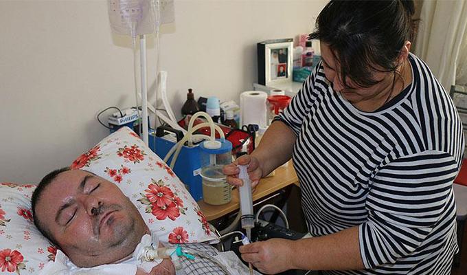 Konya Haber: Yatağa bağımlı polisin kök hücre nakli umudu