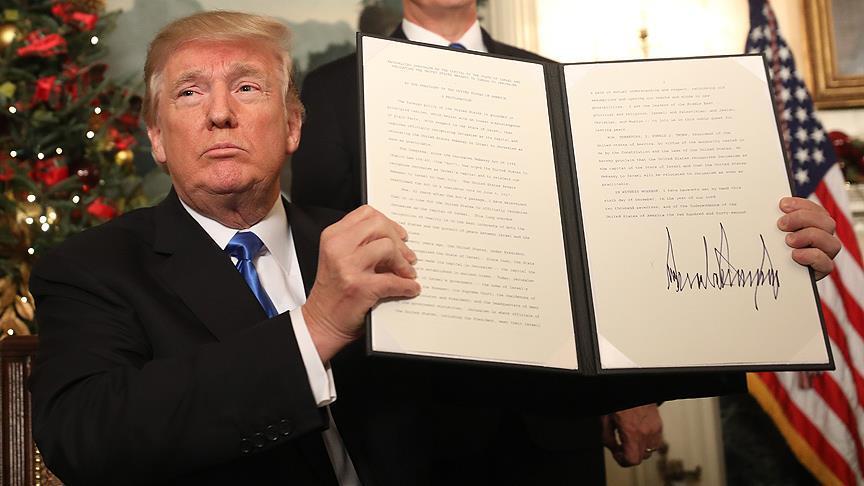 'Trump'ın Kudüs kararı yaraya tuz basmaktır'