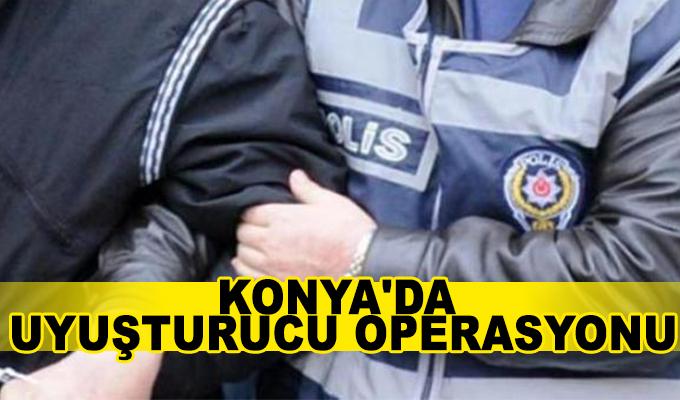 Konya Haber: Konya'da uyuşturucu operasyonu