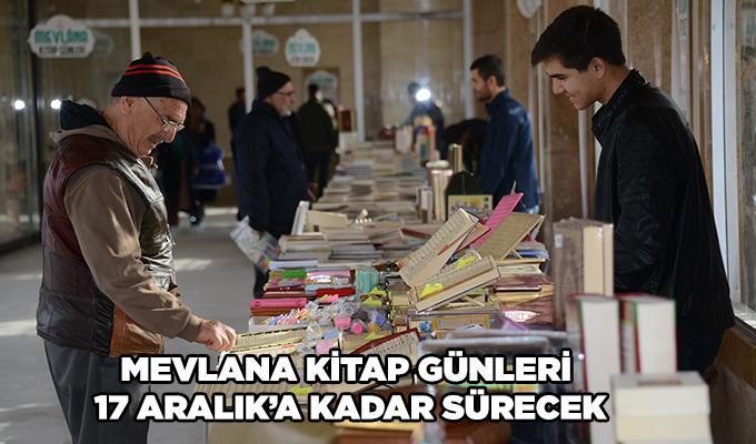 Konya Haber: Mevlana Kitap Günleri 17 Aralık'a kadar sürecek