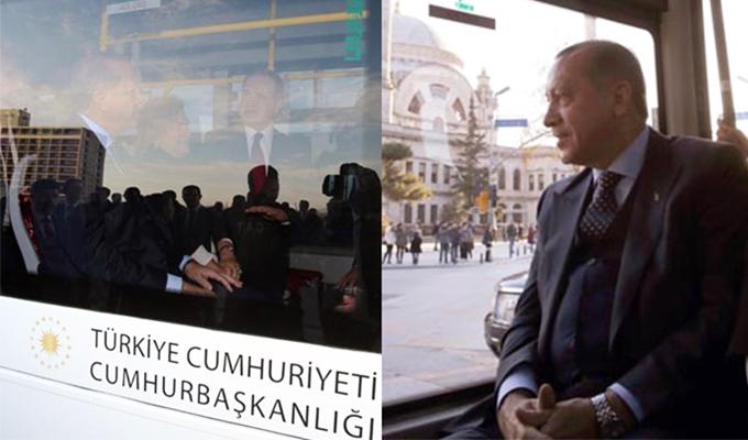 Cumhurbaşkanı Erdoğan makam arabasından indi, Mabeyn Köşkü'ne o otobüsle gitti