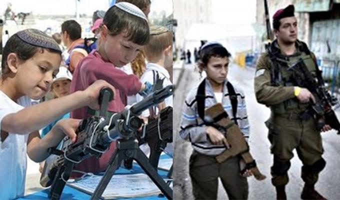 İslam dünyası uyuyor, İsrail ana okulu çağındaki çocukları bile savaşa hazırlıyor!