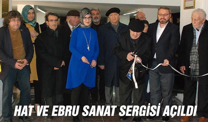Konya Haber: Hat ve Ebru Sanat Sergisi Açıldı
