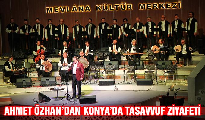 Konya Haber: Ahmet Özhan'dan Konya'da Tasavvuf Ziyafeti